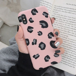 Accessories - Pink Leopard iPhone Case 7 8 Plus X XS XR Max